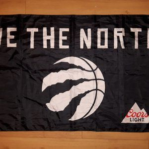 Coors Light Accents - Toronto Raptors We The North Flag